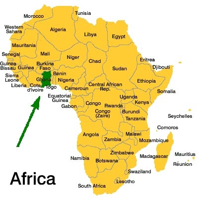 Lake Volta Africa Map.Where S Ghana Teamholloway S Blog